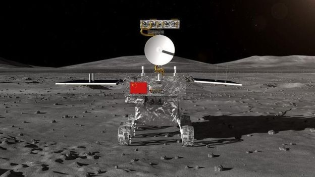 China's Probe Ready for Moon Landing