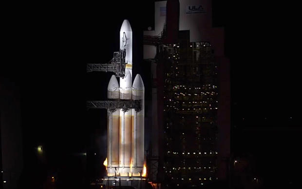 Watch Live Today! Delta IV Heavy Rocket Launching US Spy Satellite @ 2:05 pm ET