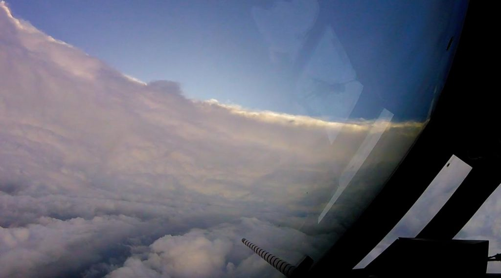Flying into the eye of Hurricane Dorian – Video
