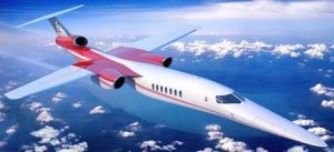 Boeing Invests in Advanced Supersonic Business Jet