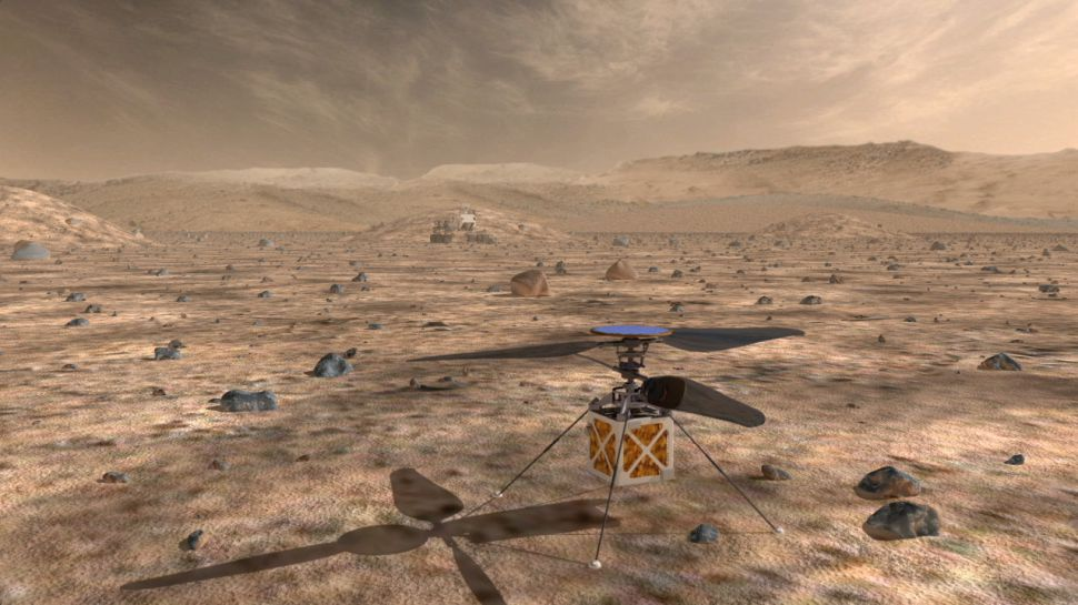 Mars Helicopter Could Open Alien Skies to Exploration