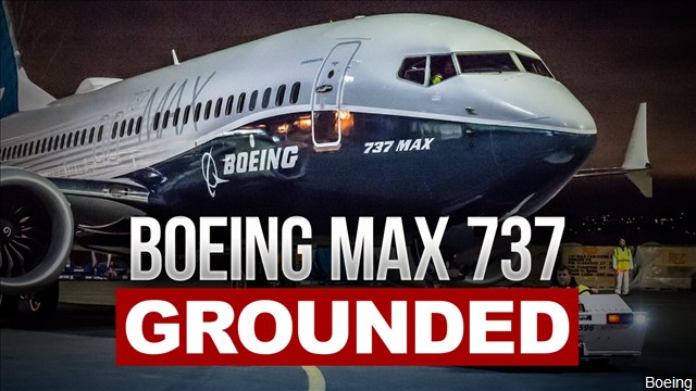 Rogue Boeing 737 8-Max Planes