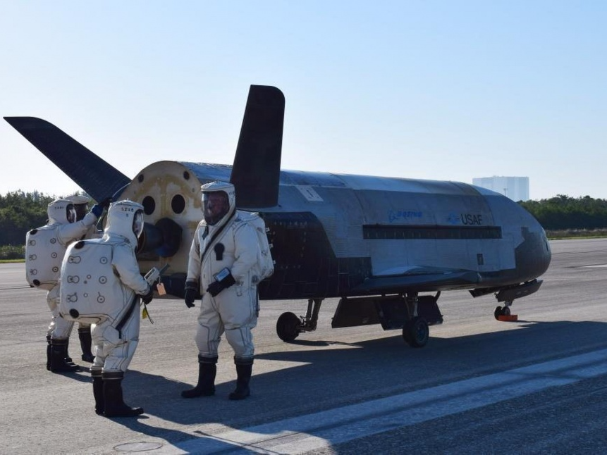X-37B: The Mysterious Space Plane