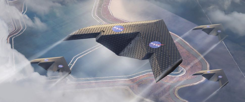 NASA and MIT are studying a flexible wing