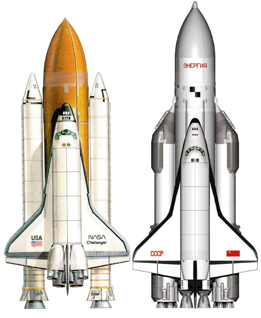 Buran Space Shuttle vs STS – Comparison