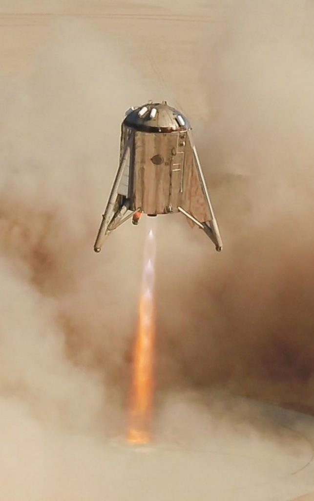 SpaceX's Starhopper: Test fully successful
