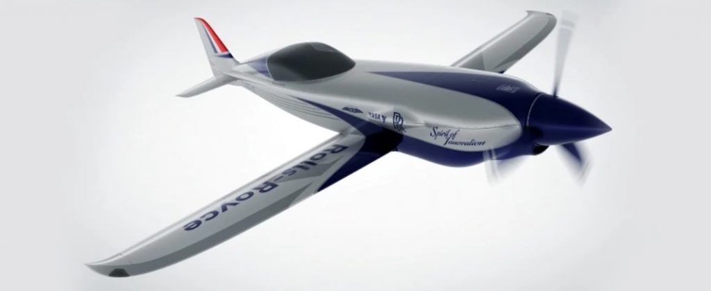 Rolls-Royce is Developing the World's Fastest Electric Plane