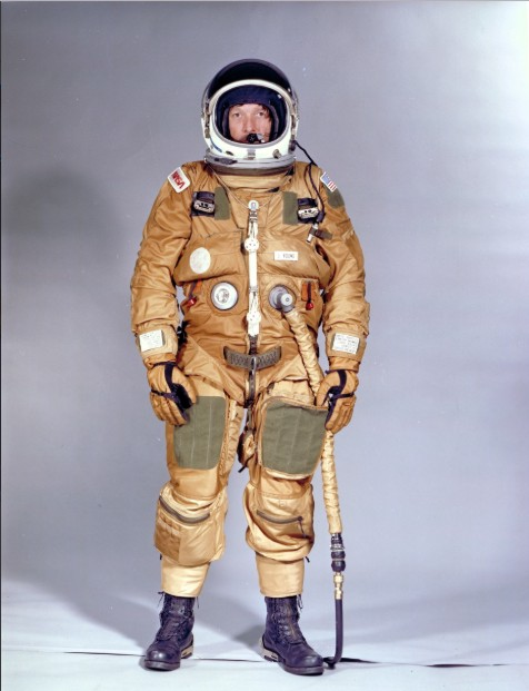 The history of NASA Space Suits and their