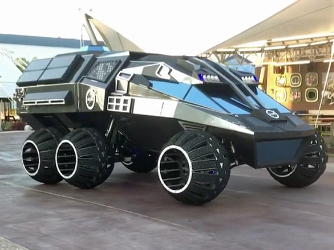 aroveror sometimesplanetary rover is aspace exploration The first stage is relatively simple besides the engine, the fuel, and the oxidizer  tanks, a center body section lies between the fuel and the liquid oxygen tank.