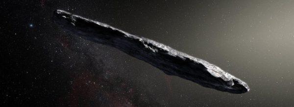 Weird Interstellar Object Could be an Alien Space Probe