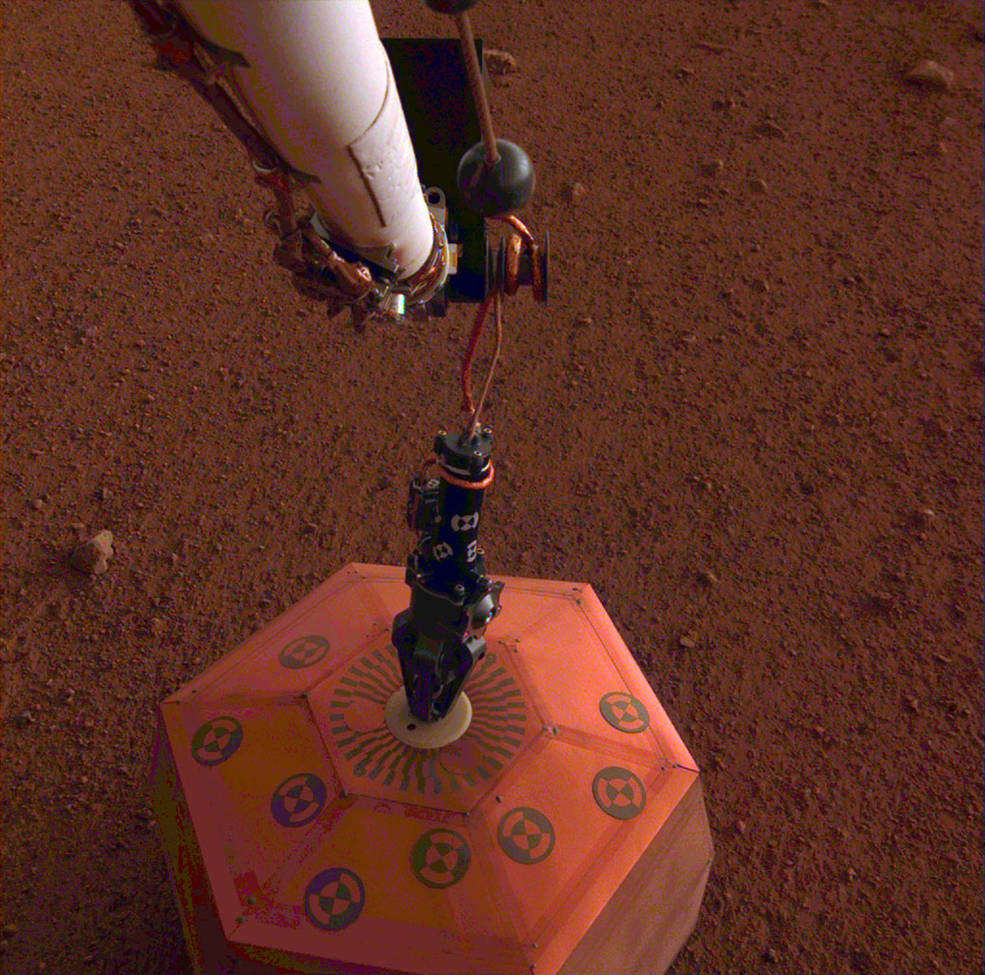 InSight Places First Instrument on Mars