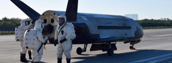 Air Force X-37B secret spaceplane lands after 780 days in orbit